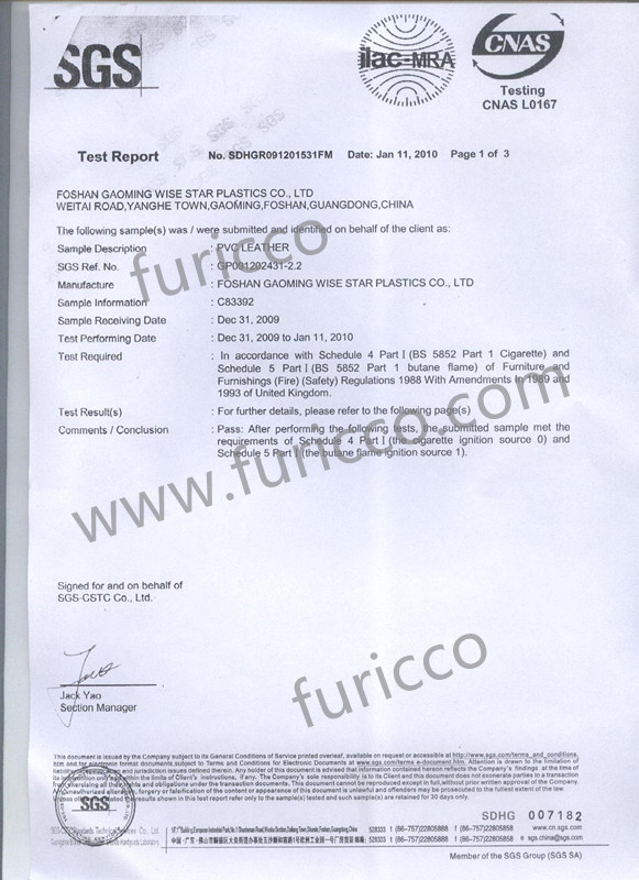 BS 5852 test report-1