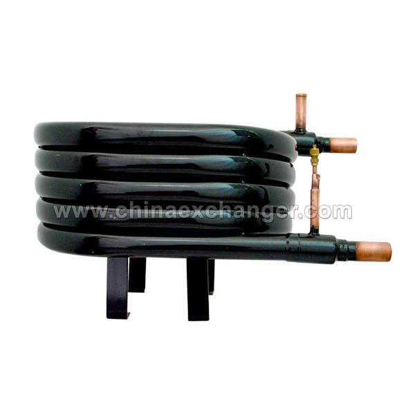 Coaxial heat exchanger-circular