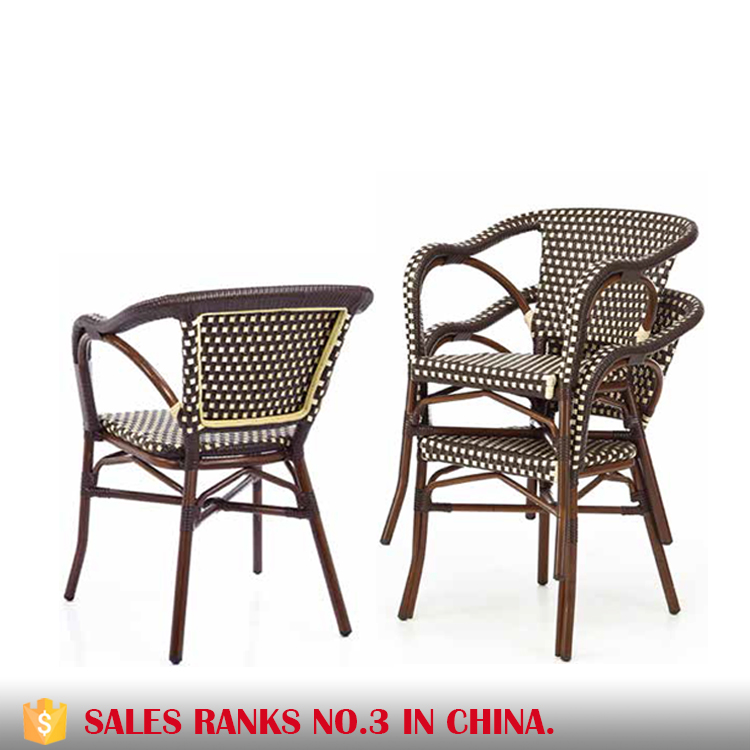 Outdoor furniture rattan chair cafe table chair AE1040   cafe table chair