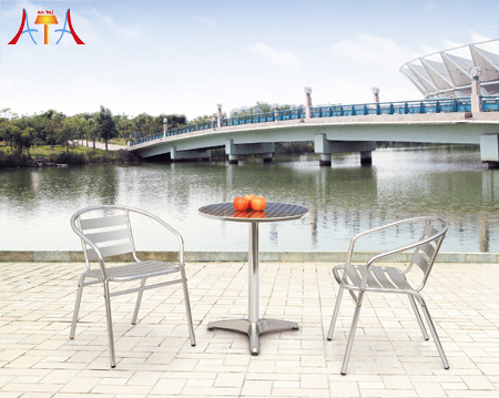Outdoor Restaurant Table And Chair AT-8001