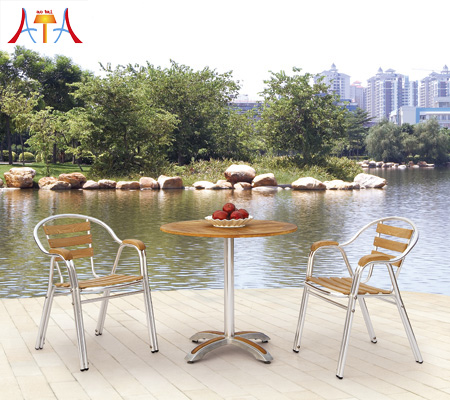 Outdoor Restaurant Dining Table And Chair AT-8016