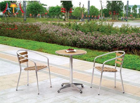 New Outdoor Cast Aluminum Furniture Sets AT-8014