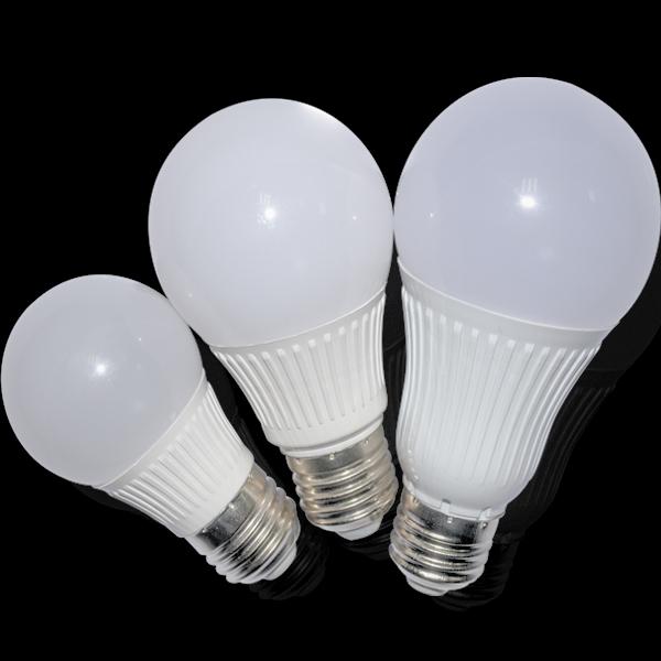 2015 new model plastic aluminum bulb e27 3w 5w 7w 9w 12w