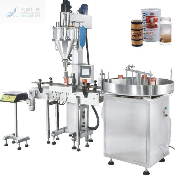FILLING MACHINE WITH CAPPER