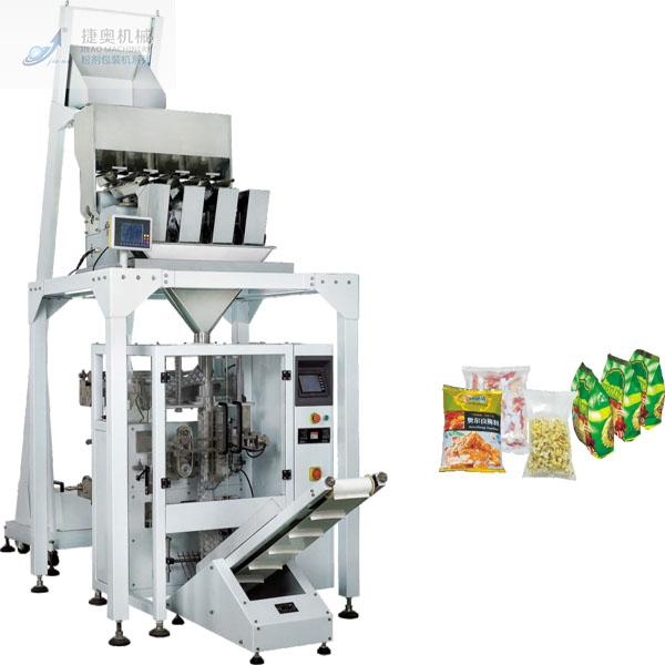 JA-4230 4 Heads Electronic Scale Vertical Automatic Packing Machine
