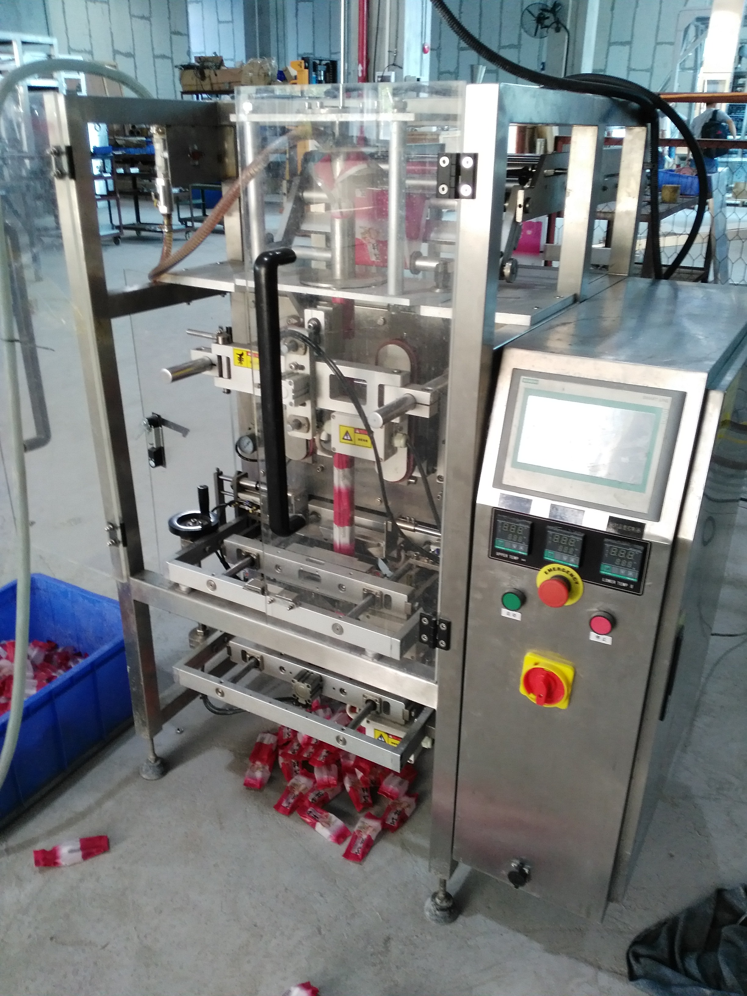 potato sauce packing machine