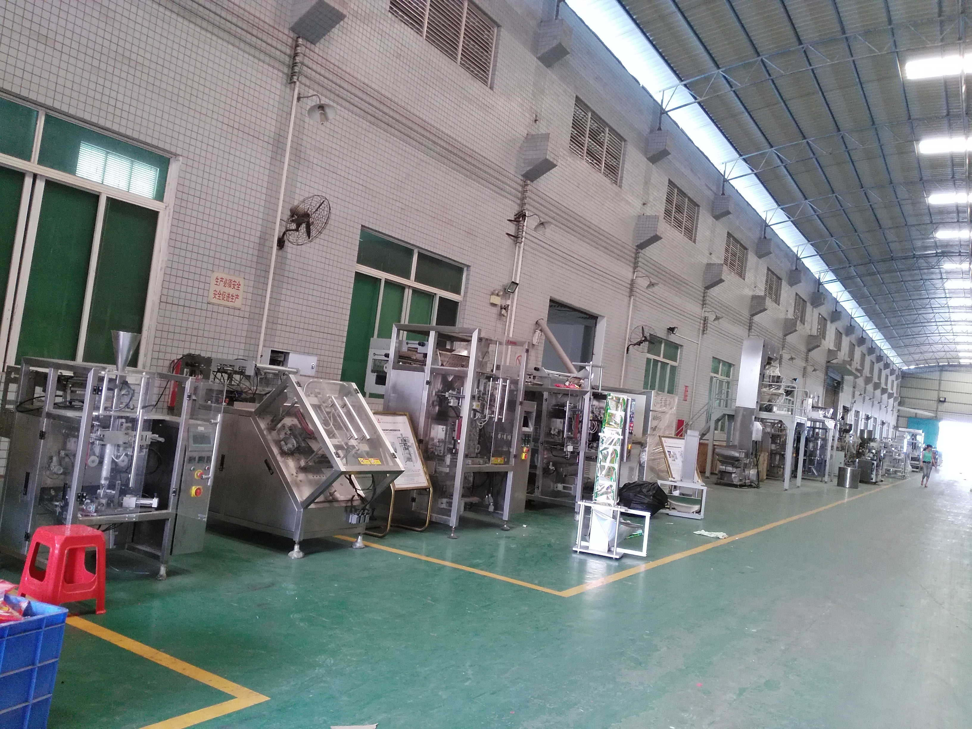 JAIV-6848 Vertical Powder Packing Machine For Automatical/Slanting