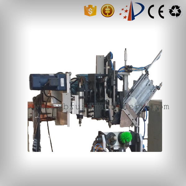 MEIXIN-Brush Drilling Machine, Mxf182 4 Axis 2 Heads Drilling And Tufting Brush Machine-1
