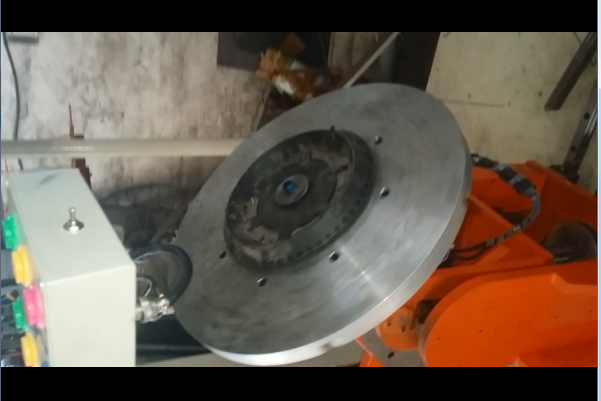 3 axis industrial disc brush tufting machine-MEIXIN