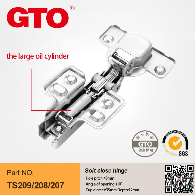 ts209 hydraulic soft close hinges for cabinets