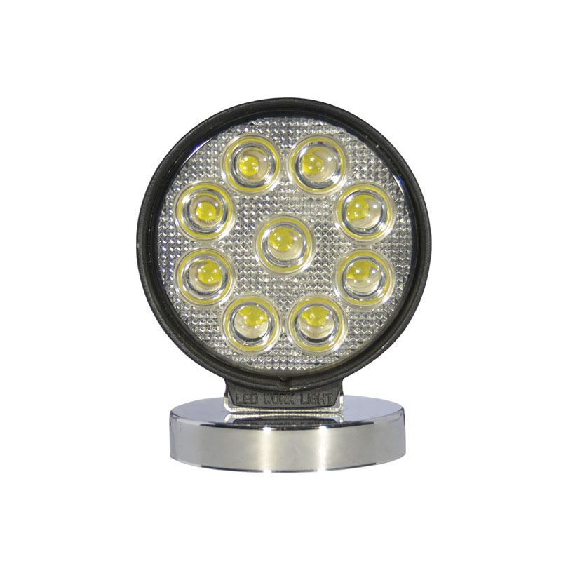 27W Round LED Work Light