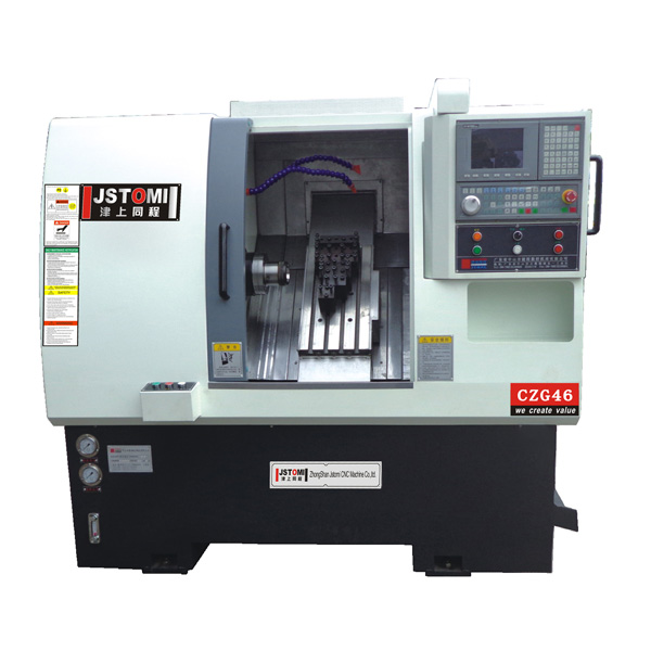 CZG46 2-axis gang type cnc lathe machine