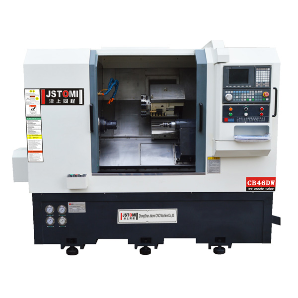 CB46DW  2-Axis turret and tailstock  cnc lathe machine