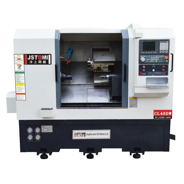 JSWAY Brand automatic machine design 2 axis lathe