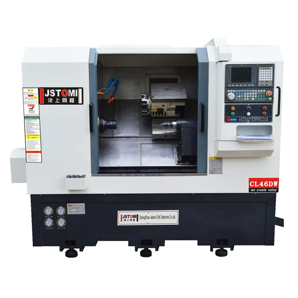 CL46DW  2-Axis turret and tailstock  cnc lathe machine