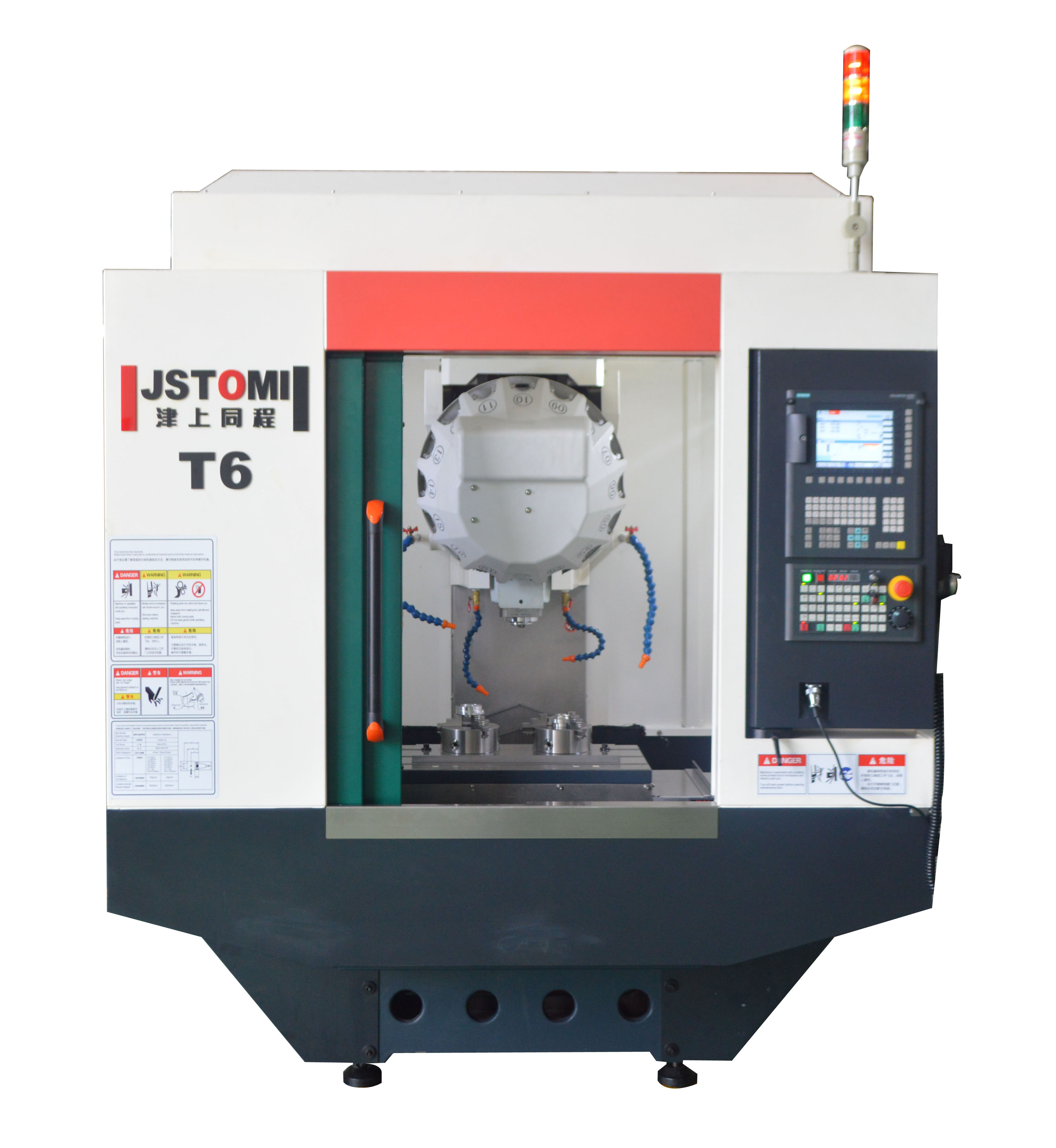 T6 high speed vertical drilling machining center