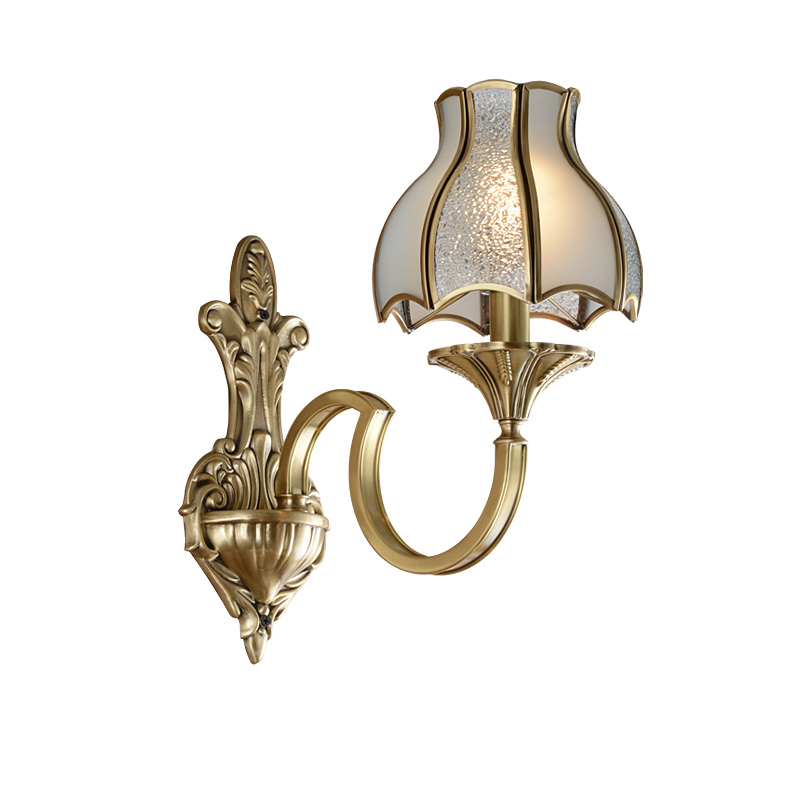 Brass Wall Light (EAB-14001-1)