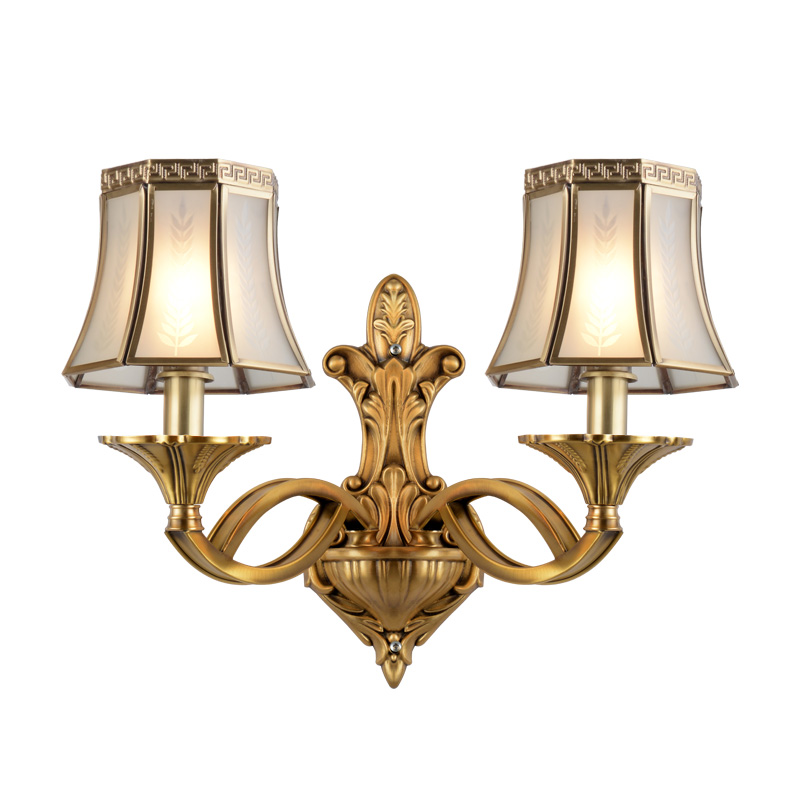 Brass Wall Sconces (EAB-14007-2)