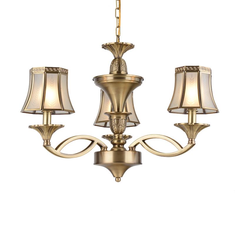 Brass Chandelier (EAD-14007-3)