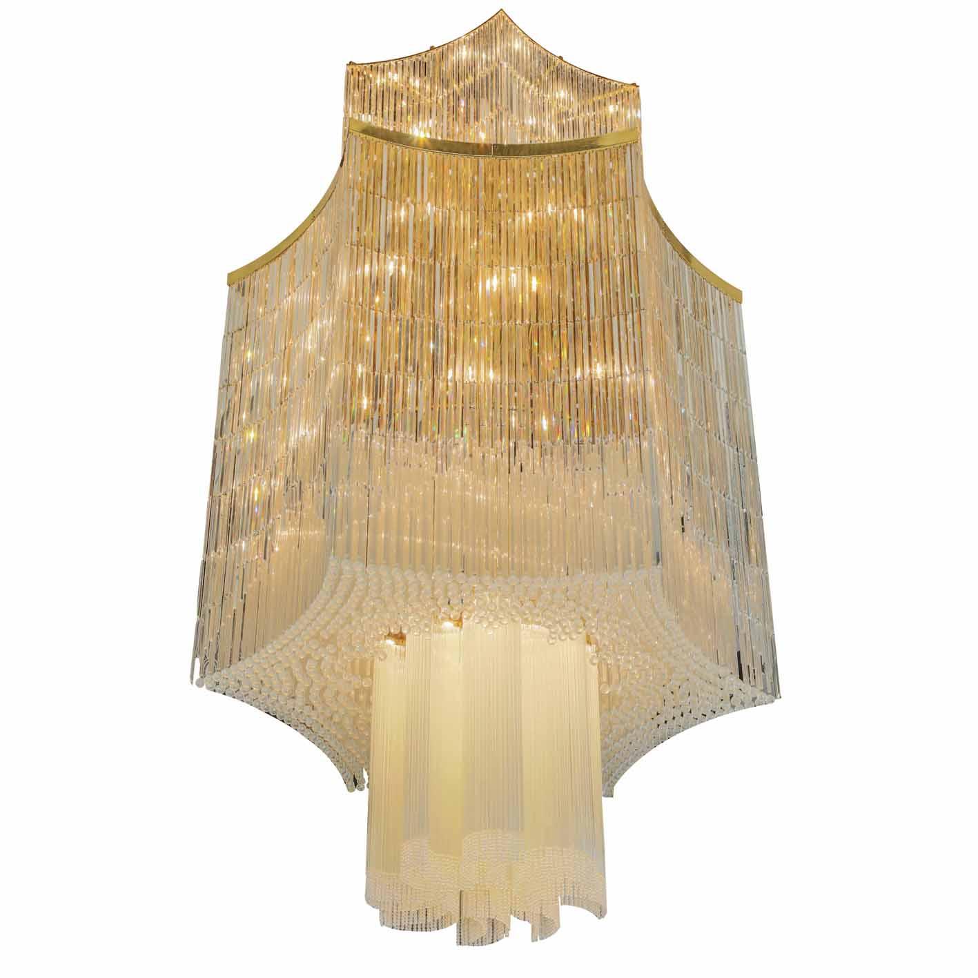 Crystal Chandelier Lighting (MD217-DX6613)