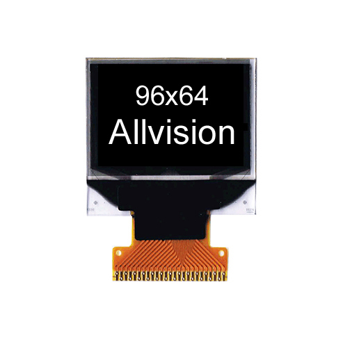 Monochrome OLED Display 0.95'' 96*64
