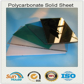 colored Polycarbonate solid sheet