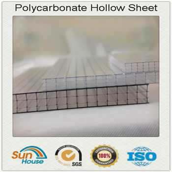4 wall Polycarbonate Hollow Sheet