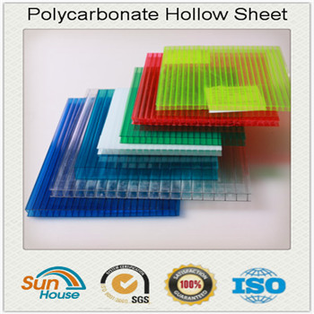 8mm and 10mm twin wall Polycarbonate Hollow Sheet