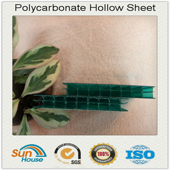 12mm to 16mm multi wall Polycarbonate Hollow Sheet