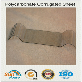 840mm width Polycarbonate corrugated sheet