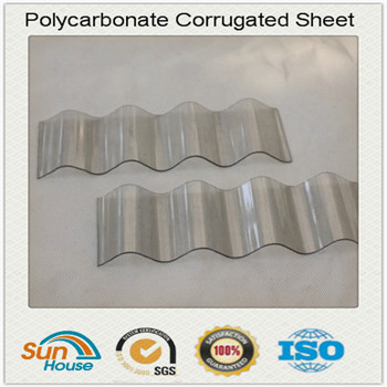 930mm width PC corrugated sheet