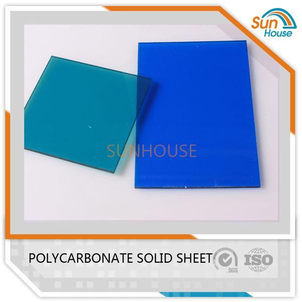 Blue PC Solid Sheet