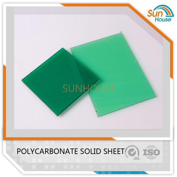 Green PC Solid Sheet