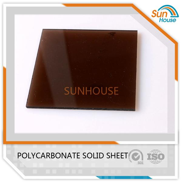 Brown PC Solid Sheet