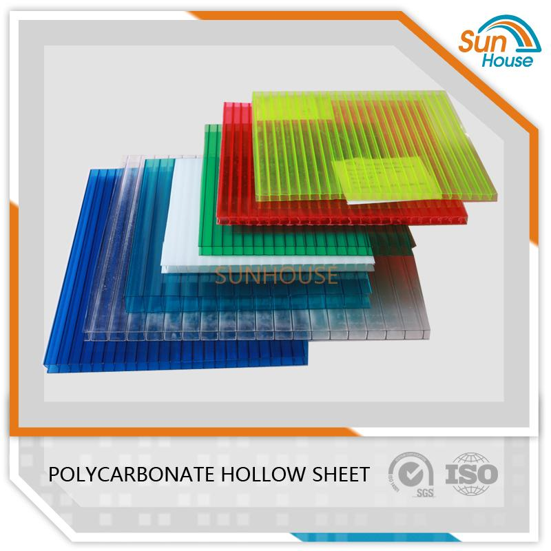 6mm PC Hollow Sheet
