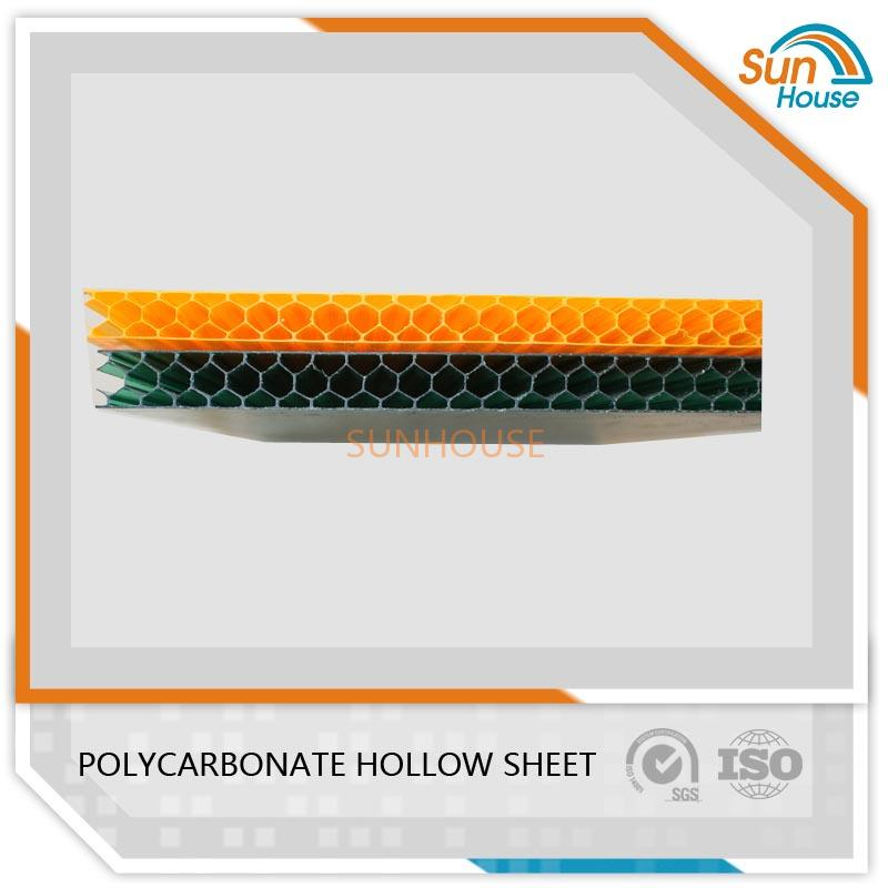 8mm PC Honeycomb Sheet