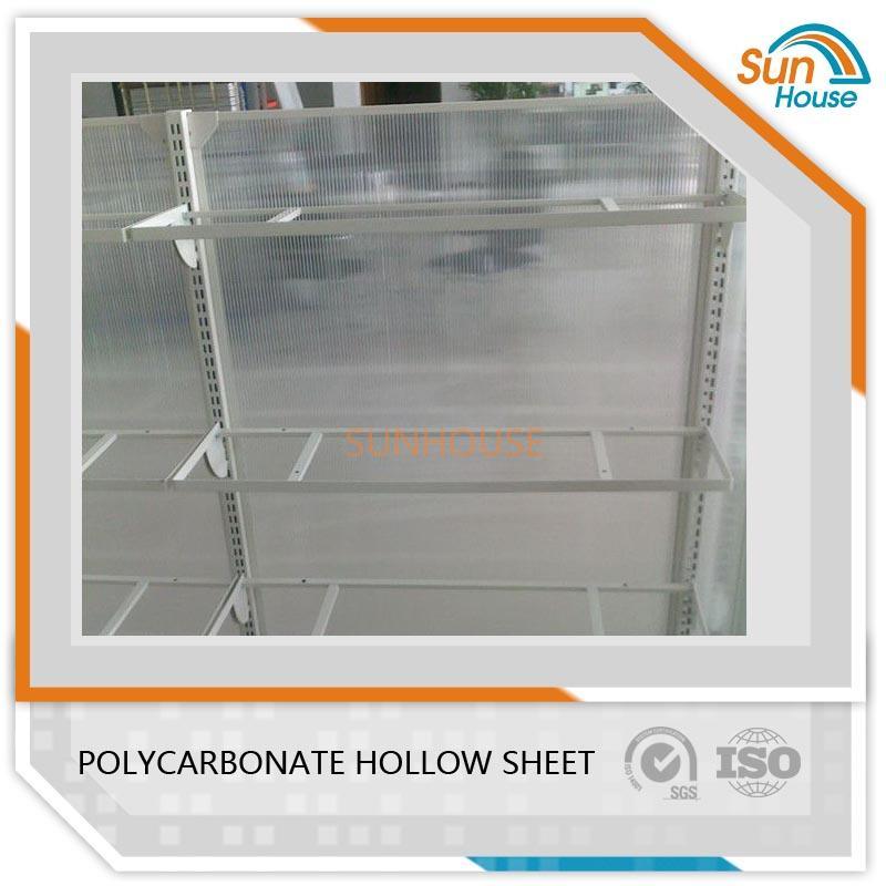 8mm PC Hollow sheet