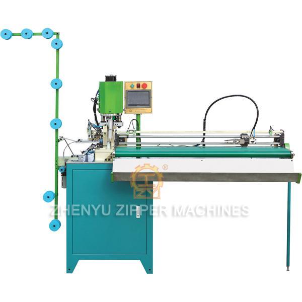 ZY-302-B Vollautomatisches Ziehen und Ultraschall-Open-End-Schneidemaschine