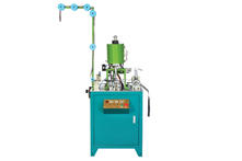 ZY-208N Fully Automatic Nylon Ultrasonic Wire Welding Bottom Stop Machine