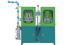 ZY-104I-F Vollautomatische, unsichtbare CNC-Synchro Stripping Bottom Stop Maschine
