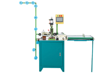 Fully Automatic Ultrasonic Zig Zag Cutting Machine
