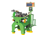 ZY-501M-I Metal Two Way Teeth ( Corn-Type Teeth) Flat Wire Making Machine