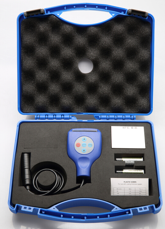 Paint Coating Thickness tester Gauge meter ( wall paper . pain ,plastic )