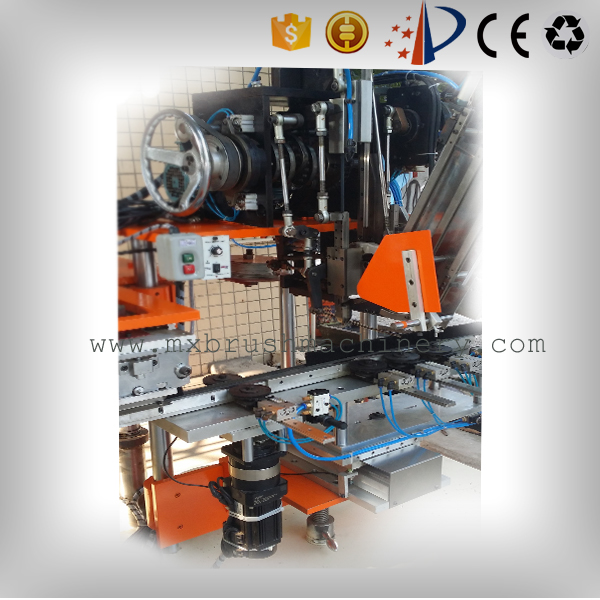 MX208 2 Axis 2 Heads Drilling And Tufting Brush Machine
