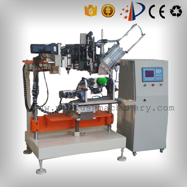 MXF182 4 Axis 2 Heads Drilling And Tufting Brush Machine