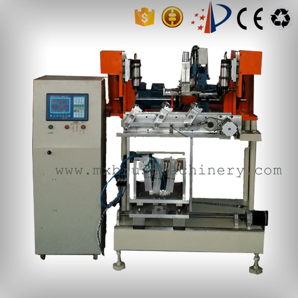 MXF192 4 Axis 3 Heads Brush Drilling And Tufting Machine