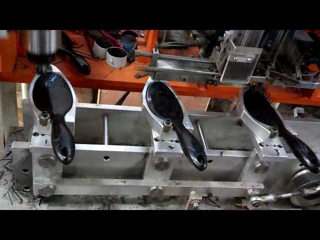 4 Axis 2 Drill Head Machine Plant