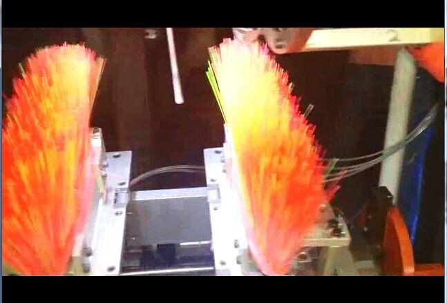 5 axis broom tufitng machine