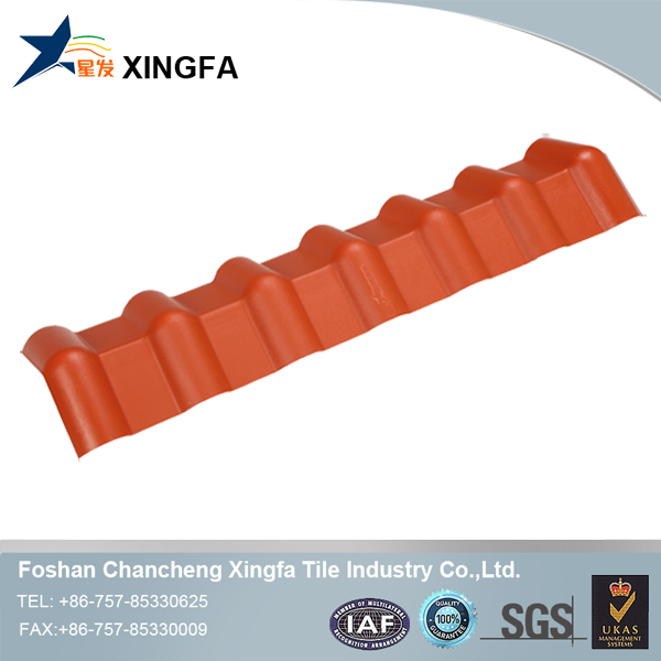 Synthetic resin weather board
