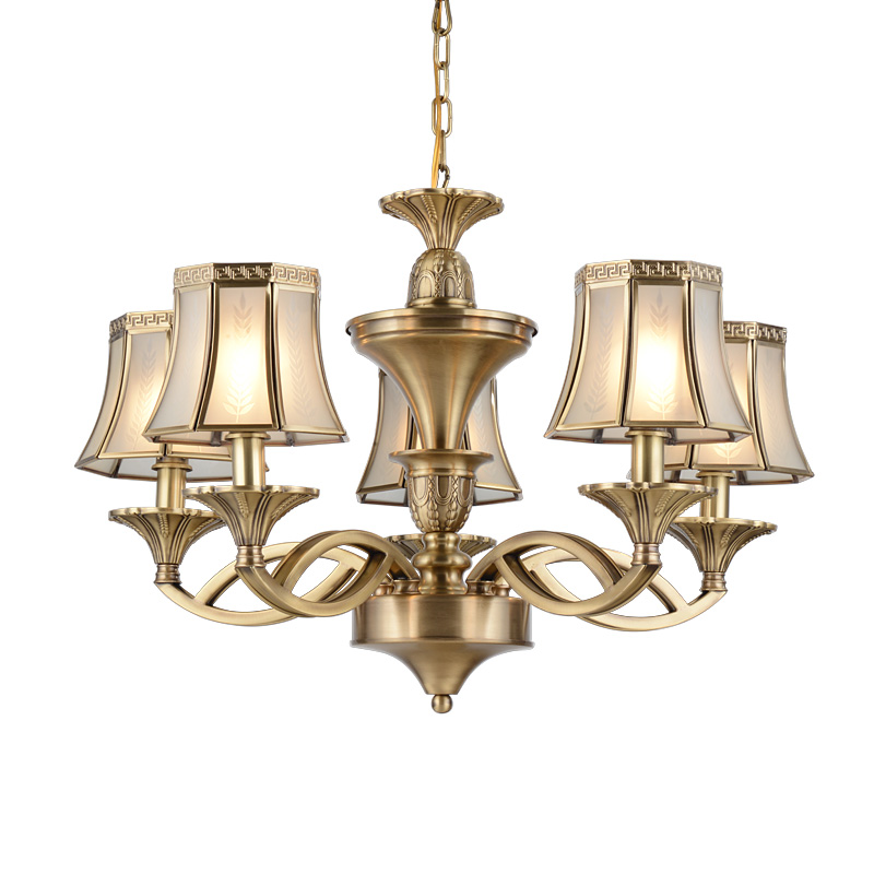 high-end antique chandeliers brass traditional for home